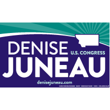 Denise Juneau for Congress logo