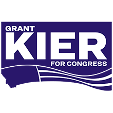Grant Kier for Congress logo